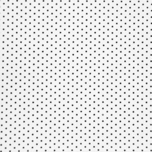 Ditsy Dots (White) Cotton Poplin Print