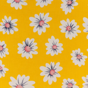 Distinctly Daisy (Yellow) Cotton Poplin Print