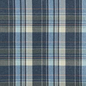 Classic Check Fabric, Navy