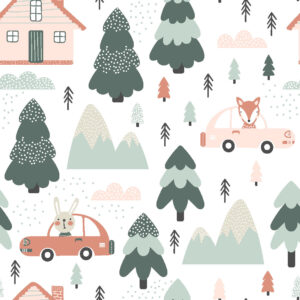 Print to Order Fabric, D0025