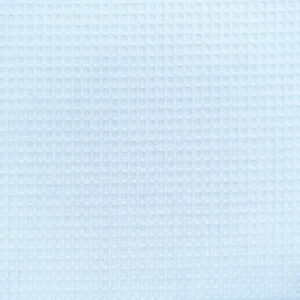 Cotton Waffle Fabric, Blue