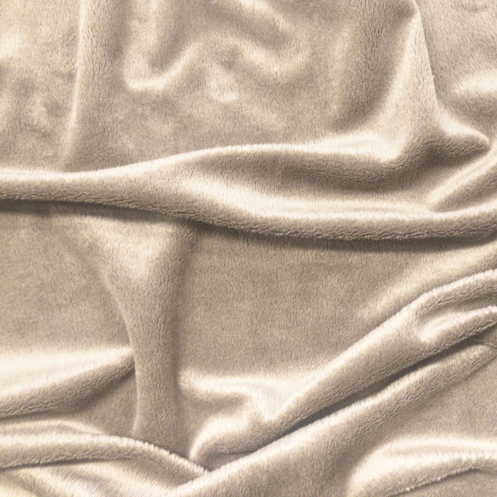 Cuddlesoft Velboa Fabric, Beige