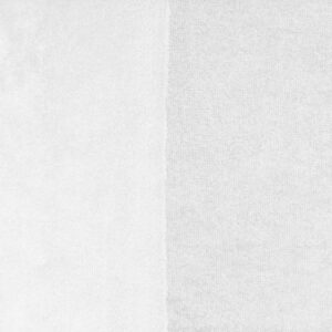 Double Touch Bamboo Fabric, White