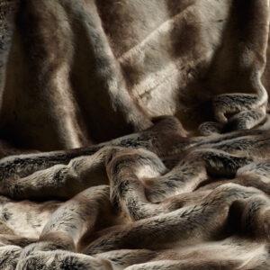 Faux Fur Fabric Rabbit Alaska