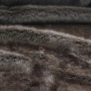 Beige Rabbit Faux Fur Fabric
