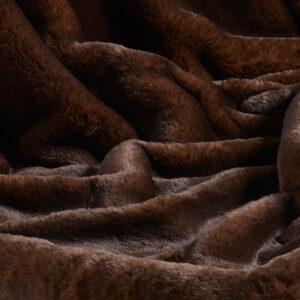 Brown Bear Faux Fur Fabric