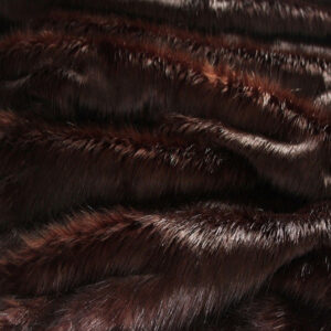 Brown Longhaired Faux Fur Fabric