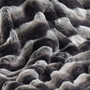 Faux Fur Fabric Montana Stripe
