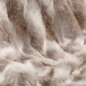 Faux Fur Fabric Reindeer