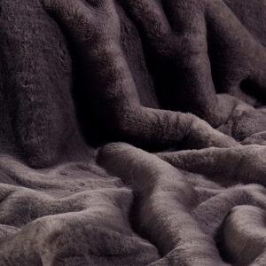 Russian Blue Faux Fur Fabric