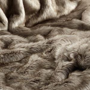 Siberian Wolf Faux Fur Fabric