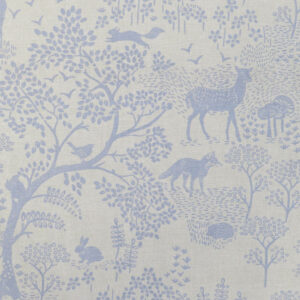 Woodland Life Fabric by Fryett's Fabrics