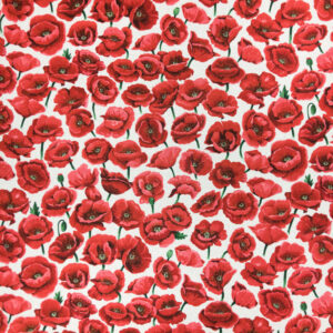 Poppies (Field White) by Nutex