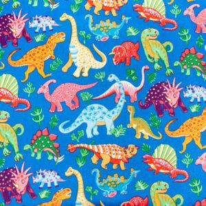 Dinosaur Dance (Royal) by Nutex