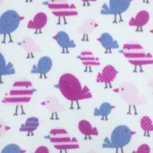 Bright Chicks Printed Fleece Fabric