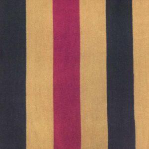 Camel Stripe Printed fleece Fabric